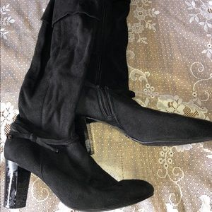 Women's Predictions Faux Knee-High Boots Size 9